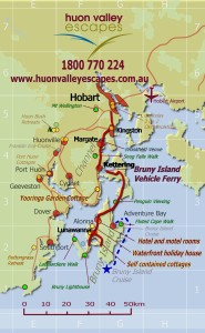 Travel Hobart to Bruny members May 2014