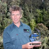 Paul with the Nyrstar Environment and Sustainability Award